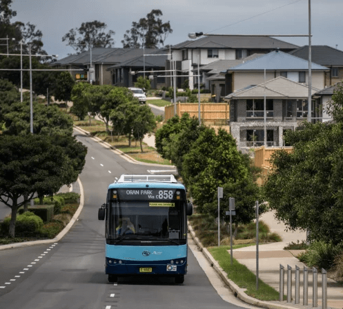 Oran Park Bus